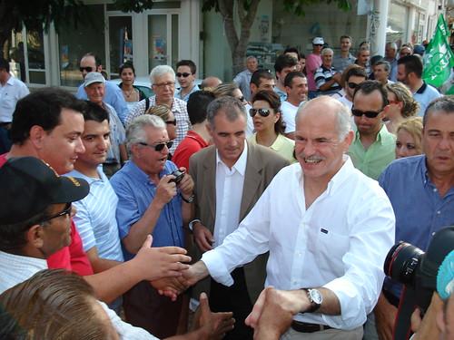Ο Γιώργος Παπανδρέου στις Σάπες Ροδόπης 24.06.2007