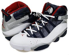 NIKE AIR JORDAN 6 RINGS OLYMPIC colorway