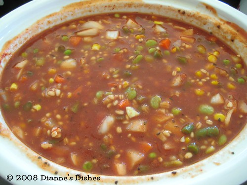 Easy Slow Cooker Vegetable Soup: Ready to Cook
