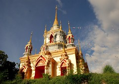 Temple in Doi Inthanon NP