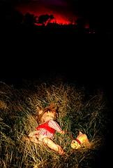 lindadog (bikriderstar) Tags: art portraits toys paradise barbie paisaje spaces muñecos muñecas apocalipsys