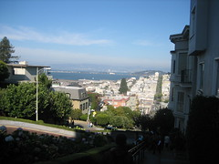 View from Lombard Street (Russian Hill, California, United States) Photo