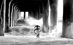 (Pukkamaru / Claudio Uema) Tags: california beach ava kids fun pier losangeles socal manhattanbeach pukka pukkamaru artlegacy