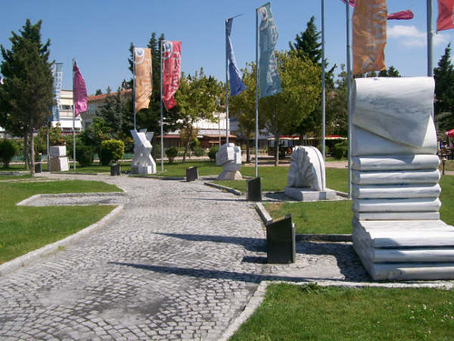 Buyukcekmece seaside sculpture garden