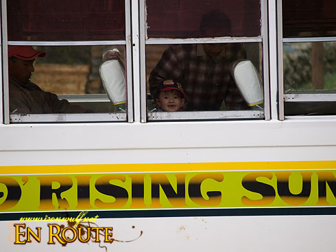 Rising Sun Bus Passengers