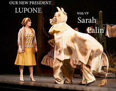 Patti and Cow (pianomanonline82) Tags: sarah cow broadway patti 2008 gypsy palin lupone