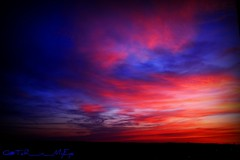 (Q@TaR_in_MyEye) Tags: world pink blue our red sky orange usa sun colors beauty set canon eos us state secret united greatshot nights 5d 1001 in flickrsbest aplusphoto colourartaward skyascanvas amongstthethorns