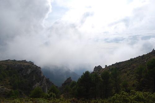 El Collado de Borrell en La Serrella