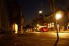 C.T. Storkstraat by Night (Hengelo, The Netherlands) (lambertwm) Tags: city longexposure light shadow night dark evening cityscape verjaardag sony 2008 stork stad viewcount maartje hengelo a300 tuindorp stadsgezicht storkstraat lwmfav