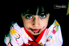 [       ] (` ms.Qtr) Tags: camera portrait people baby cute eye love girl beautiful beauty face female angel canon turkey hair person kid eyes pretty child bright little sister chocolate 4 young adorable arabic um xp years sis miss pure aisha qatar mashalla  qtr shoshi   400d 5mas  3woosh