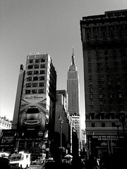 Empire State Bldg and Hotel Pennsylvania