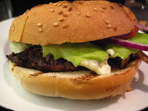 Garlic Mayo Beef Burger