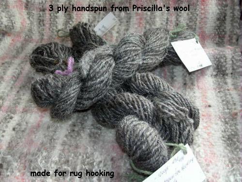 3 ply rug wool