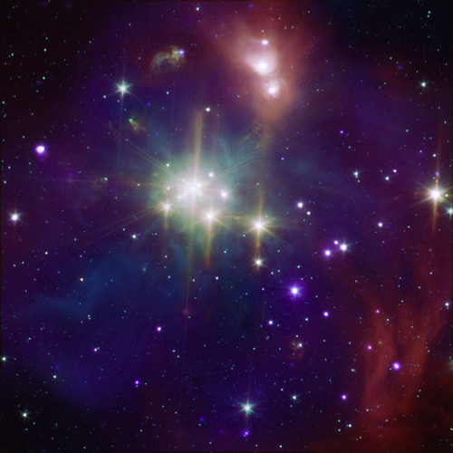 Coronet Cluster: A Neighbor of Star Formation (A region of star formation about 420 light years from Earth.)