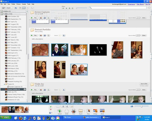 picasa screenshot