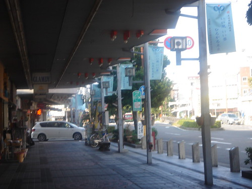 大垣の商店街風景