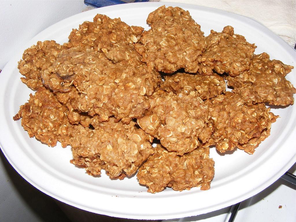 healthy homemade oatmeal cookies