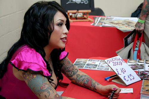 lipstick tattoo. Betty Lipstick. London Tattoo