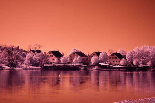 Sunset Lake IR