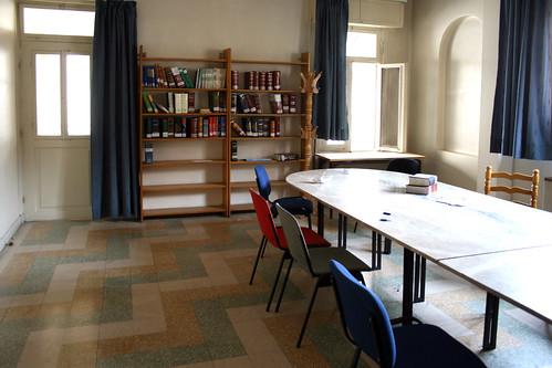 Ifpo-Damas, Abou Roumaneh, la salle d'étude