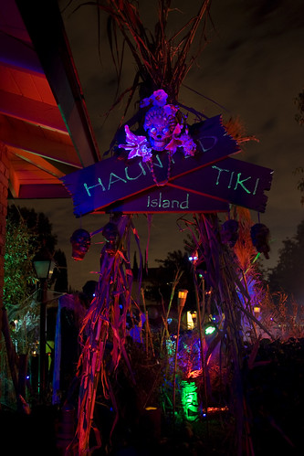Haunted Tiki Island Entrance 2008