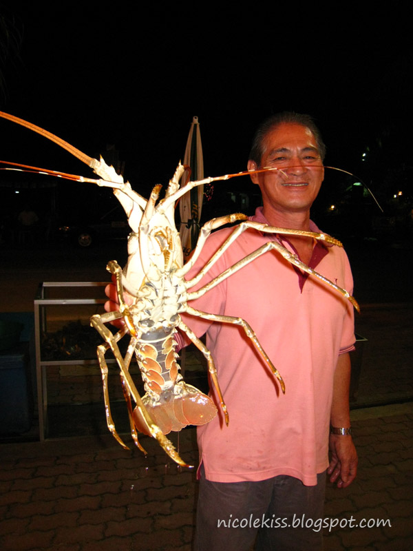 uncle huat and lobster