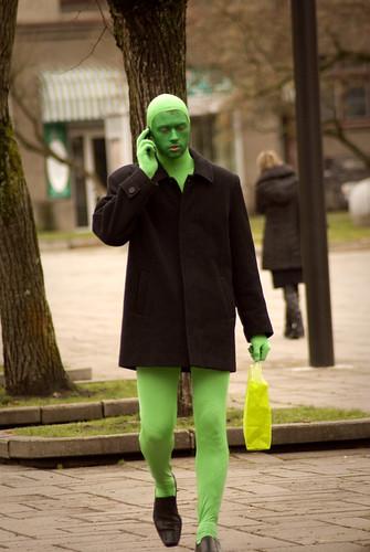 Žalias žmogus