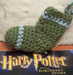 mini sock Slytherin