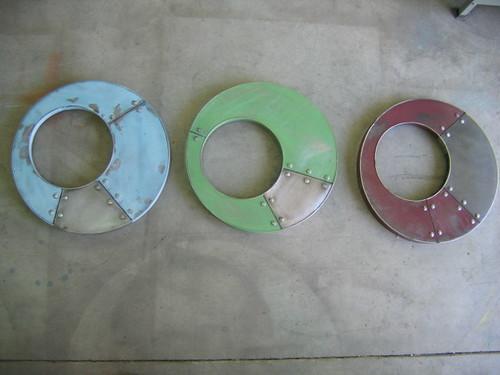 Multi colored mirror set