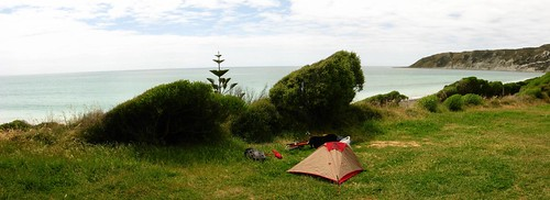 At Marfels Beach, New Zealand