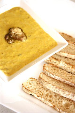Parisian scrambled eggs with foie gras