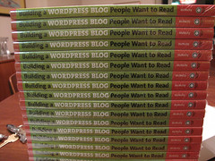 Lots of copies of my book