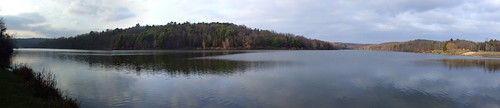 Frances Slocum Lake panorama1