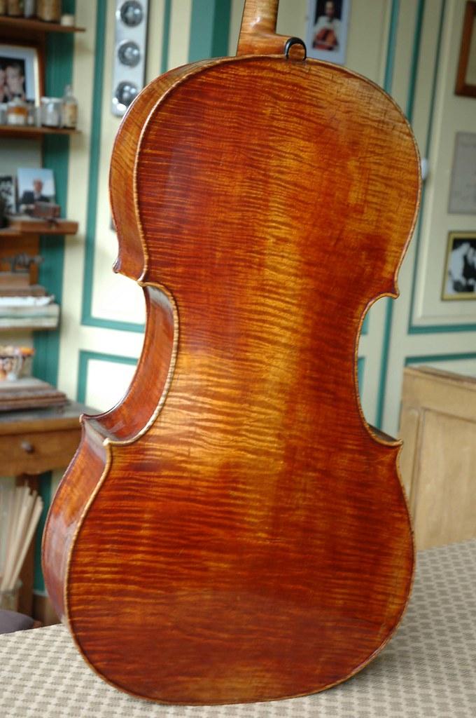 Cello Sébastien-Auguste BERNARDEL N°84 année 1838