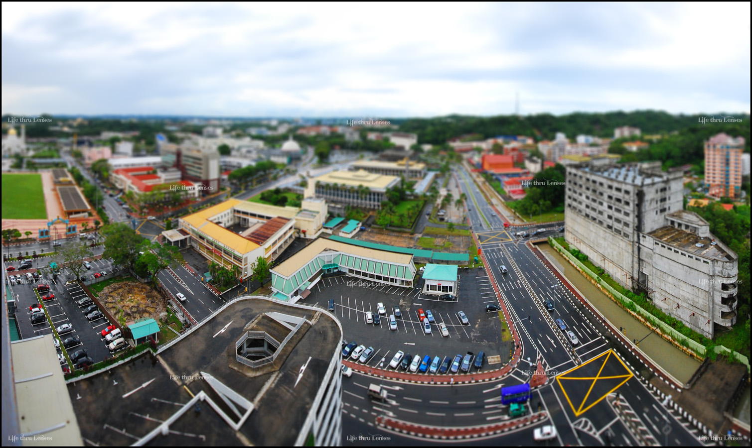 Bandar Pano in Miniature