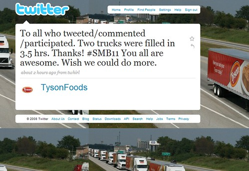 Great Tweet From @TysonFoods