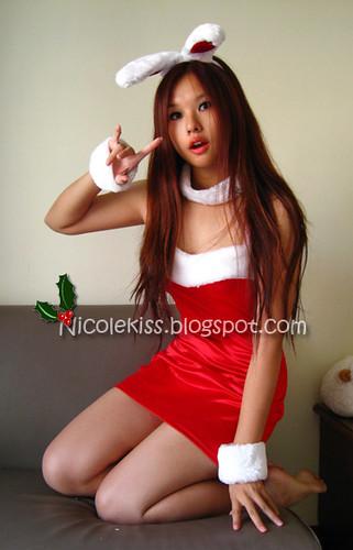 christmas bunny nicole_not so heavy make up watermark