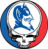 Duke University Grateful Dead Steal Your Face