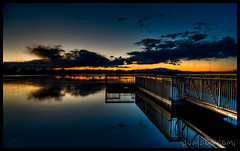 Reflecting Pool :: HDR (|sumsion|) Tags: longexposure winter sunset usa lake cold reflection ice water night clouds reflections landscape pier utah interesting nikon december tripod bluesky explore bluehour 2008 hdr highdynamicrange sunsetsky bracketing bountiful thebluehour daviscounty d90 photomatix flickrexplore tonemapped sumsion explored mywinners nikond90 theunforgettablepictures lightroom2 vosplusbellesphotos nikond90club bountifullake |sumsion| sumsioncom legacywildernessperserve httpflickrcomcamerasnikond90 d90interestingpagenight obramaestra