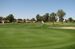 a golf course in Mesa, AZ (by: Jay Thompson, creative commons license)