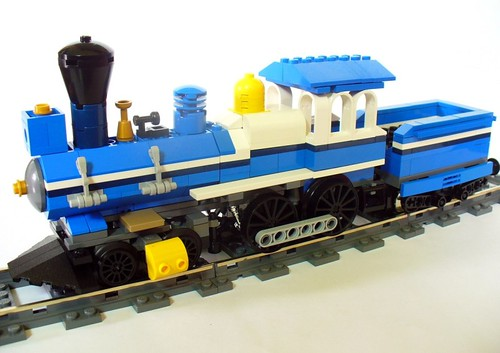 Moc Western Train With Instructions Lego Train Tech Eurobricks