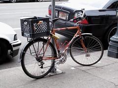 XO-1 Commuter (w/couplers) (Lesli Larson) Tags: steel bridgestone bicycles xo1 brookssaddles