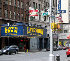 The Late Show with David Letterman (chrisinphilly5448) Tags: nyc newyorkcity newyork manhattan broadway lateshow midtown cbs davidletterman lateshowwithdavidletterman 53rdst chrisinphilly5448 christopherwoods christopherwoodsphotography