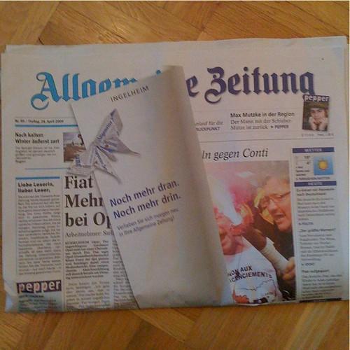 Allgemeine Zeitung kündigt Relaunch an