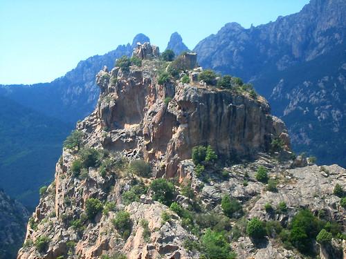 Sommet du Castellucciu : le Castellu et ses ruines
