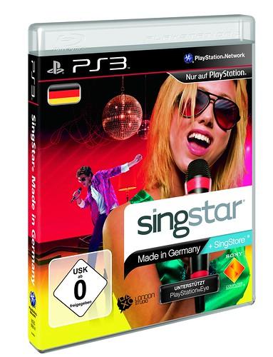 SingStar: Made in Germany - PS3 Packshot