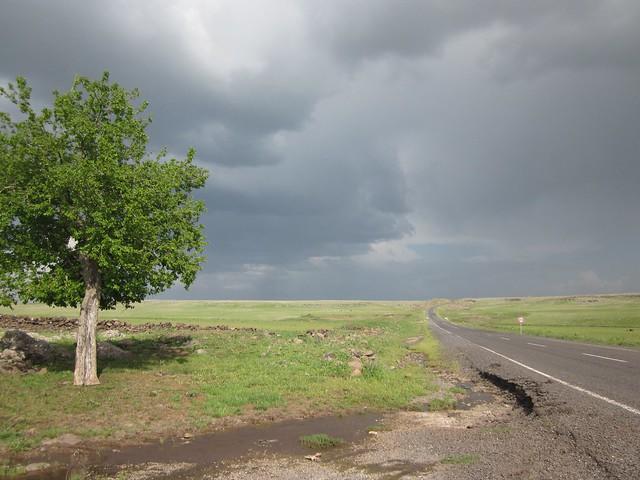 Road to Siverek