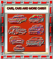 CARS, CARS, AND MORE CARS!!!