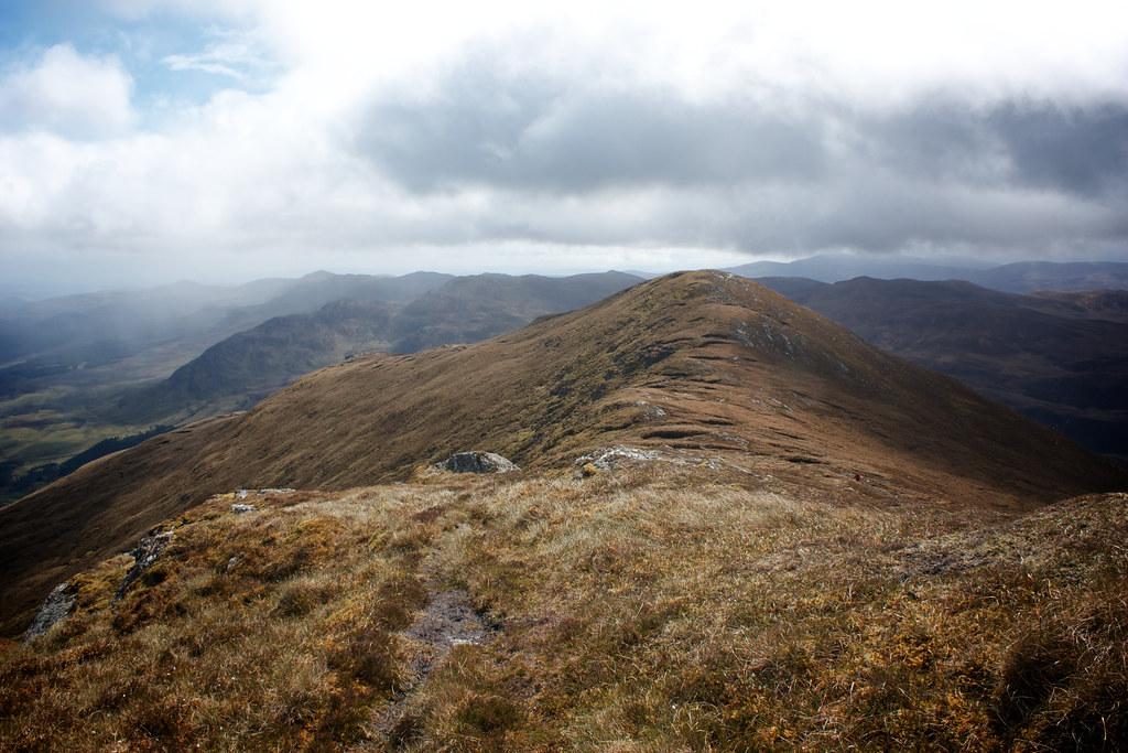 Ridge walk from Creag Ruadh