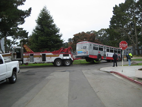 More Muni Training Bus Accident FAIL